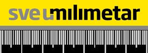 Sve u milimetar logotip sajta
